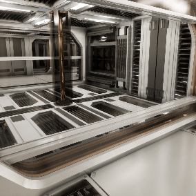 Modular Sci-Fi Hallway Set is a highly customizable asset pack, was created for development your own unique sci-fi projects.