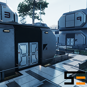 The first entry in the Modular SciFi Series' Polaris Collection. This product provides next gen, highly customizable assets perfect for creating settlment environments. Create endless layout combinations to design your perfect scifi colony.