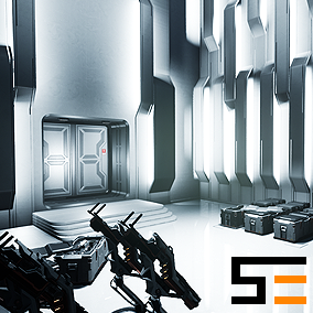 The second entry in the Modular SciFi Series' Polaris Collection. This product provides next gen, highly customizable assets perfect for creating defense storage environments.