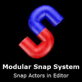 Snap Actors in Editor by moving them close to each other.