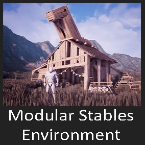 This is a stables environment package which contains 100+ assets