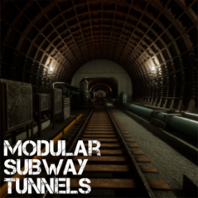 A set of modular elements, which you can create subway tunnels and filling underground rooms!