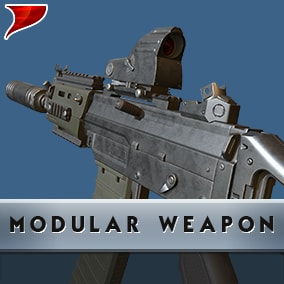 Modular Weapon all kinds of unique VFX/SFX And Animations.