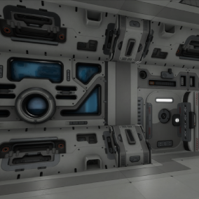Modular SciFi Series' engineering collection part B. This product provides next gen, highly customizable assets perfect for developing environments for scifi or even semi-futuristic projects set in an engineer-esque location.