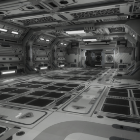 Modular SciFi Series' engineering collection part C. This product provides next gen, highly customizable assets perfect for developing environments for scifi or even semi-futuristic projects set in an engineer-esque location.