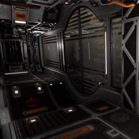Modular SciFi Series' engineering collection part F. This product provides next gen, highly customizable assets perfect for developing environments for scifi or even semi-futuristic projects set in an engineer-esque location.
