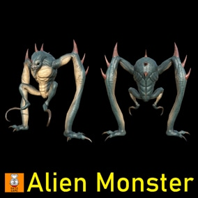 "Game Monster Model "" Alien """