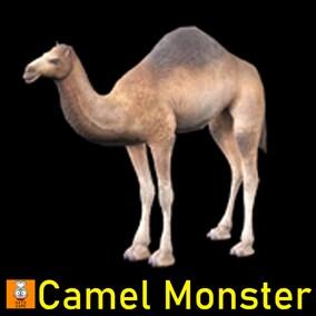 """Game Monster Model """"Camel"""""""