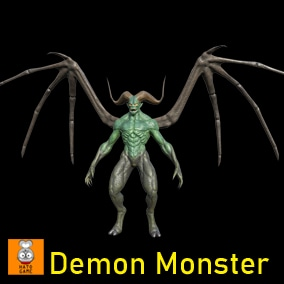 "Game Monster Model ""Demon"""