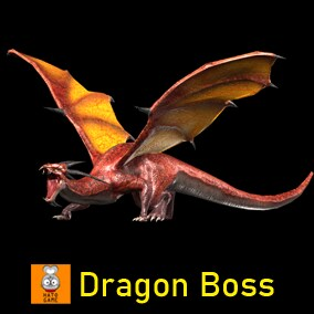 "Game Monster Model ""Dragon Boss"""
