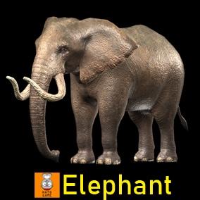 """Game Monster Model """"Elephant"""""""