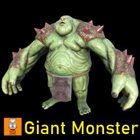 """Game Monster Model """"Giant Boss"""""""
