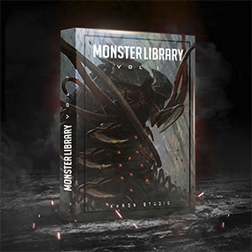This pack of sounds for monsters consists of 141 sounds, among which you can find different sounds of Attack, Death, Angry, Steps, Bite and many more ...