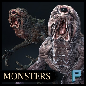 Horrible Creatures ready to any game!