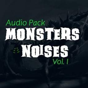 34 Monster Noises, 5 Magic Spells, 5 Medieval Weapons for your game!