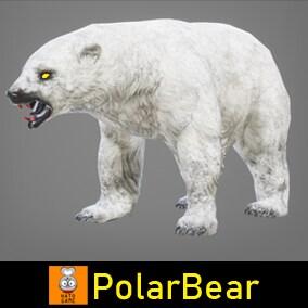 """Game Monster Model """"Polar Bear"""""""