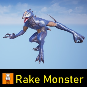 "Game Monster Model ""Rake"""