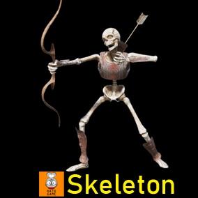 """Game Monster Model """"Skeleton"""""""