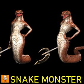 "Game Monster Model "" Snake """