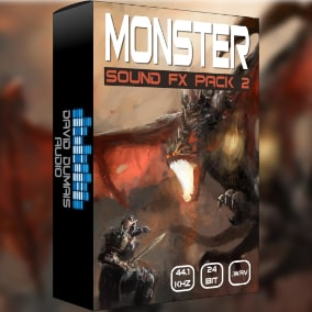 A massive pack of high-quality, professionally produced monster sounds for your game!