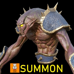 "Game Monster Model "" Summon """