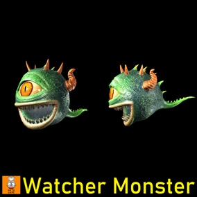 "Game Monster Model ""Watcher"""