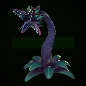 LowPoly Monster_plant_1