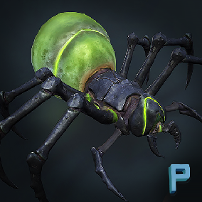 Some crawling creatures to populate your game!