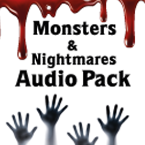 Monsters and nightmares audio pack for your game. Music and SoundFX.