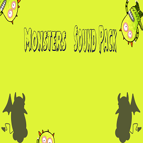 Monsters Sound Pack consists of 80 sounds