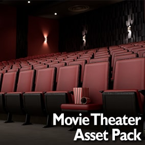 Realistic Movie Theater Props