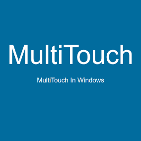 Test multi-touch in editor