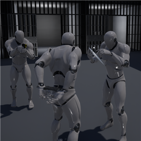 The multiplayer arrest system will integrate into any project, its perfect for roleplay game, or any other that contain police, it works both in multiplayer or singleplayer in all platforms.