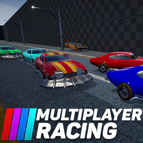 Multiplayer Racing lets you make a multiplayer racing game with ease! Tons of features available: Lobby,Vehicle customization,playerlist,leaderboards and much, much MORE!