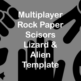 A highly flexible and replicated project for the classic rock paper scissor that can accommodate infinite possibilities.
