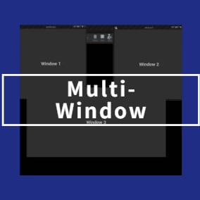 Multi-window plug-in, supports multiple displays.