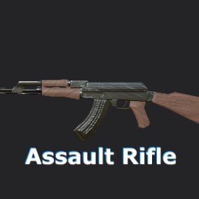First Person Animations of an Assault Rifle