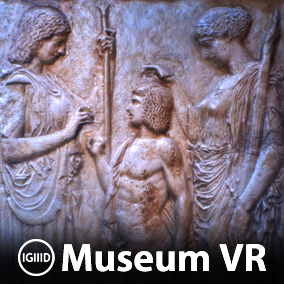 Virtual museum environment filled with 26 photo-scanned works of ancient Greek and Roman art.
