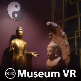 Virtual museum environment filled with 23 photo-scanned works of ancient Asian art.