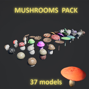 A collection of 37 models (with matching UVs) with 34 compatible materials.