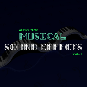 100+ Musical Sound Effects for your game!