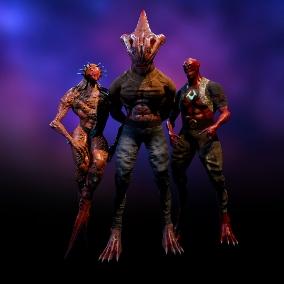 Fantastic characters - Mutant Pack 2 GHS
