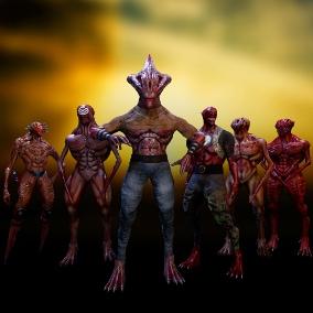 Fantastic characters - Mutant XL GHS