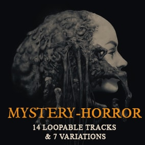 Dark and ominous orchestral music for your horror project. Use the provided musical cues to create story and narrative.