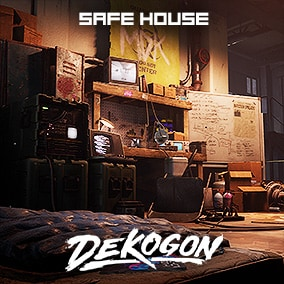 A safe house environment that can be used for games!