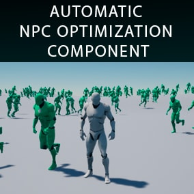 NPC Optimizator - automatic NPC optimization component for you game