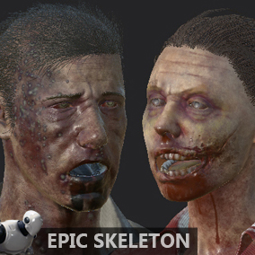NPC Zombies with simple animations