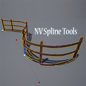 A modular, easy-to-use and fully customisable system for placing and shaping meshes along a spline.