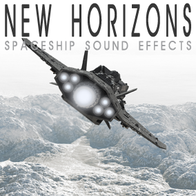 200 high quality, futuristic spaceship sound effects including pass-bys, engines on/off, doors, alarms and ambiences