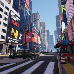 This pack is for creating an urban environment, all objects are modular and optimized. This pack includes a scene with New York, as in the screenshots